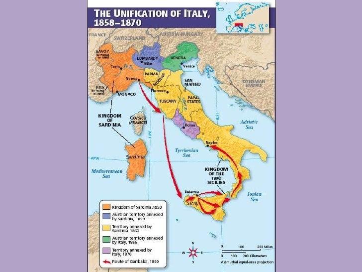 German Italian Unification