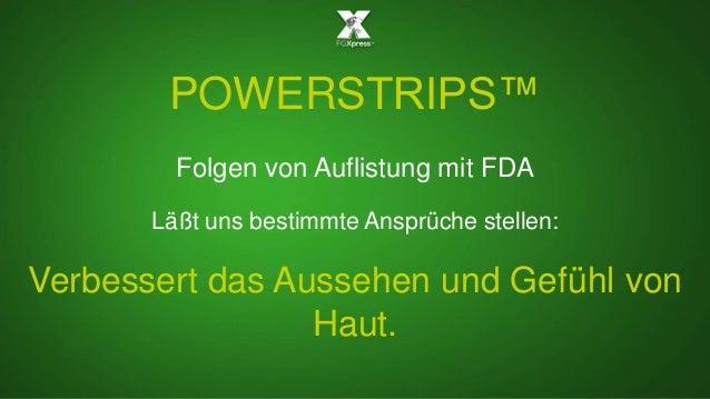 POWERSTRIPS™ Folgen von Auflistung mit FDA Läßt uns bestimmte Ansprüche stellen: Verbessert das Aussehen und Gefühl von Ha...