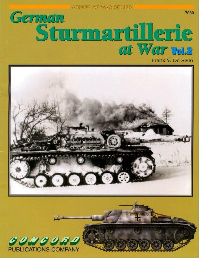 German Sturmartillerie at war