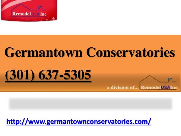 http://www.germantownconservatories.com/ Germantown Conservatories (301) 637-5305
