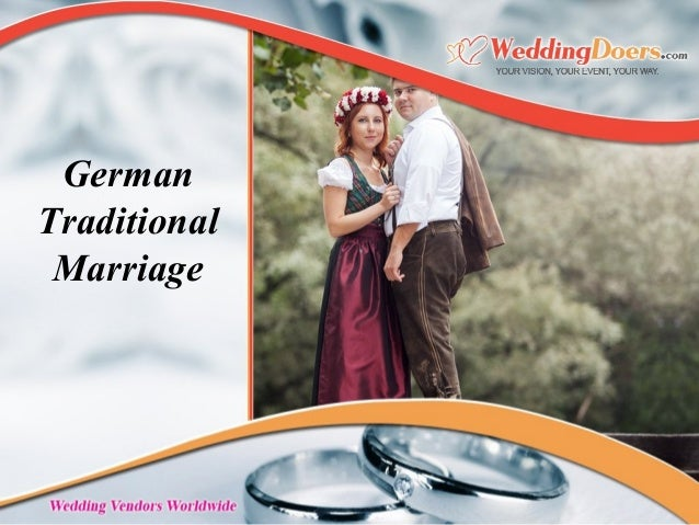 German Traditional Marriage