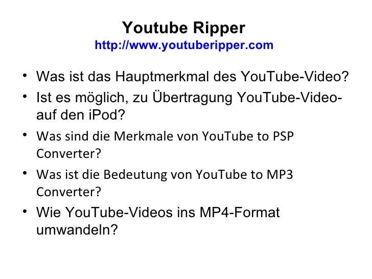 Youtube Ripper  Slide 2