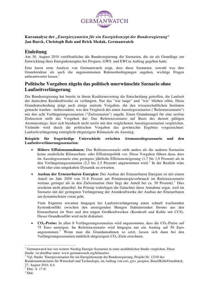 Germanwatch kurzanalyse zu-energieszenarien_der_bundesregierungr
