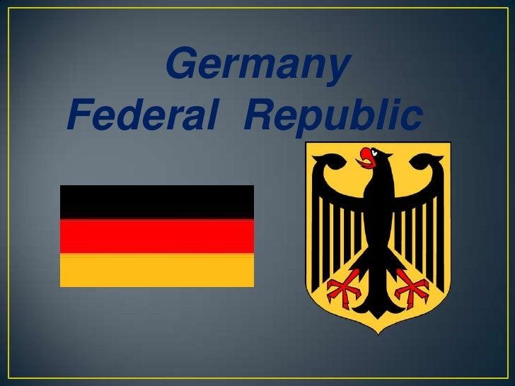 GermanyFederal Republic