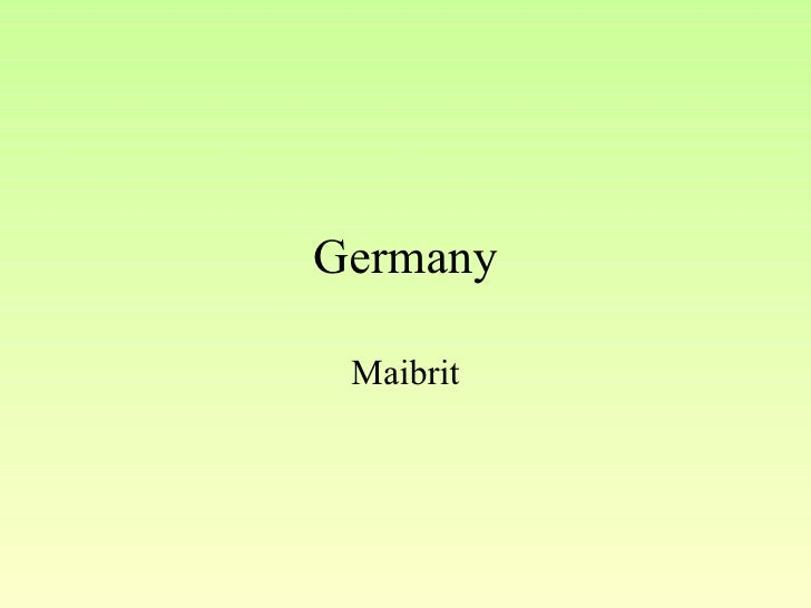 Germany Maibrit
