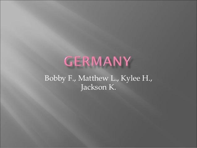 Bobby F., Matthew L., Kylee H.,Jackson K.
