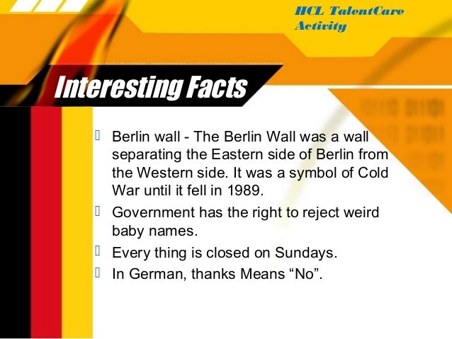 Germany- Complete culture of Germany in one presentation