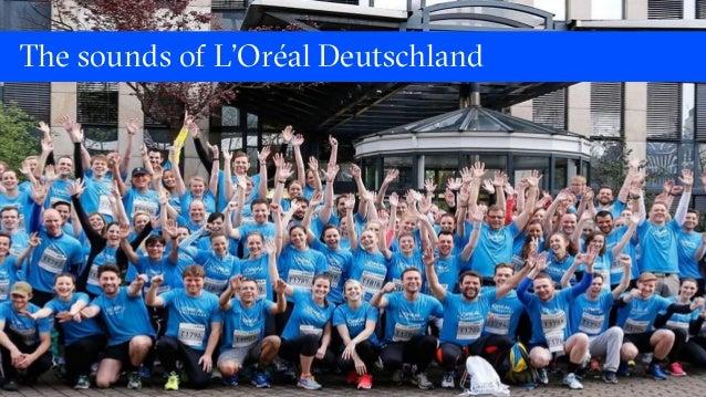 The sounds of L'Oréal Deutschland