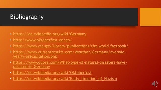 Germany Geo Study by Ryan