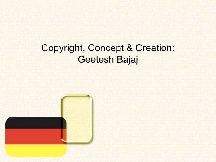 germany flag powerpoint presentation  ppt  template