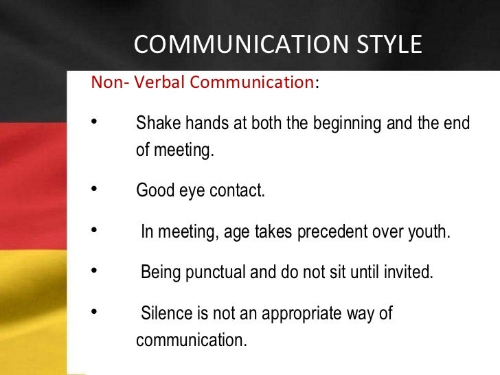 the three main areas of non verbal communication The influence of non-verbal communication is stronger than was first assumed  albert mehrabian studied the effects  three basic elements according to albert .