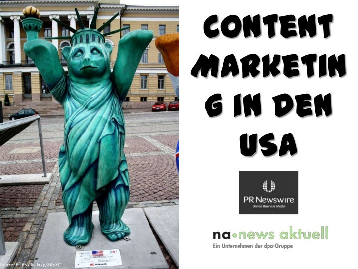 Content Marketing in den USA<br />Source: http://flic.kr/p/8AoXiT<br />