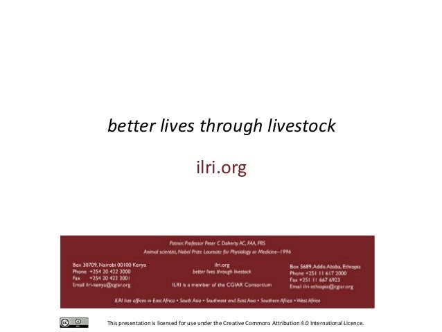 Collaborative livestock research between ILRI and Germany to