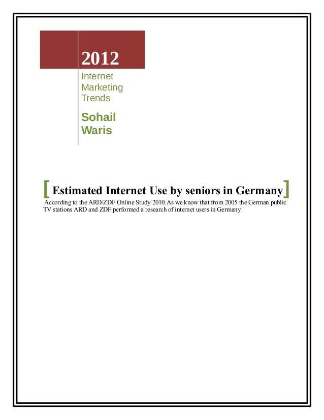 2012             Internet             Marketing             Trends             Sohail             Waris[ Estimated Interne...