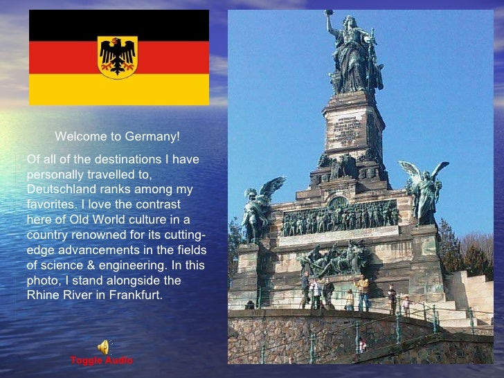 Welcome to Germany!  Of all of the destinations I have personally travelled to, Deutschland ranks among my favorites. I lo...