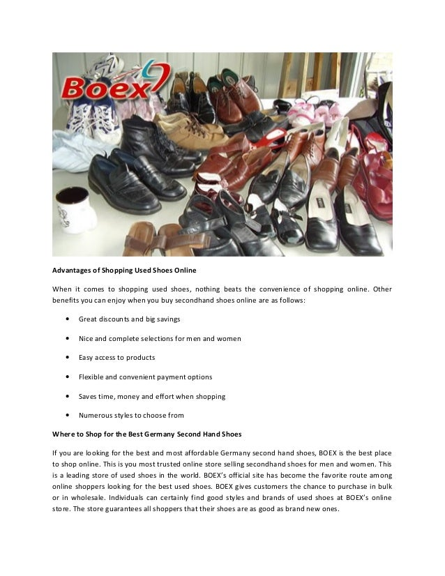 04588d34b7afa5 2. Advantages of Shopping Used Shoes ...