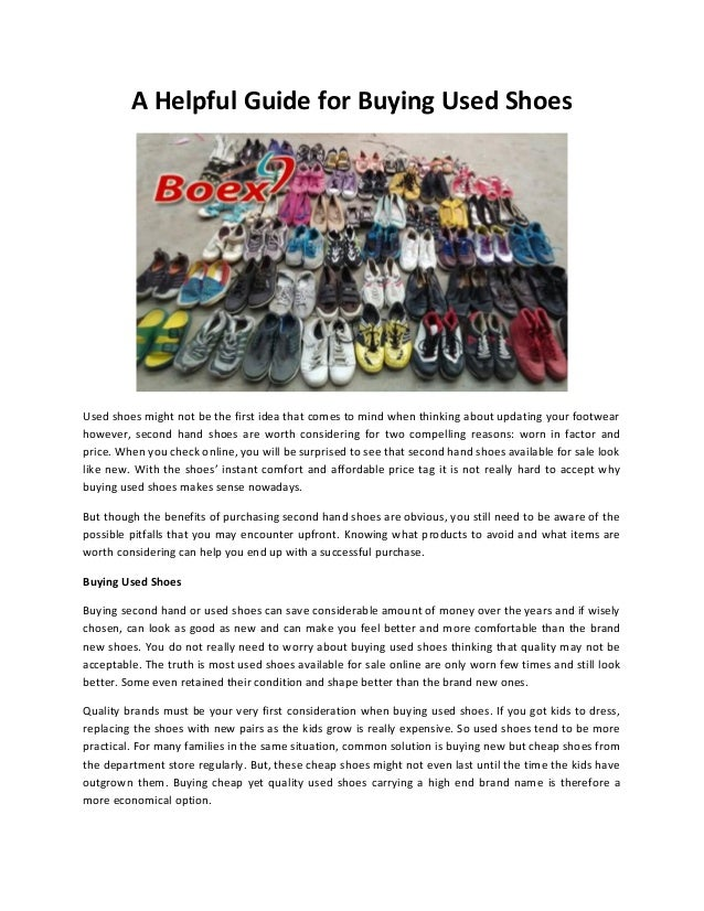 ba263b1b75001b Germany second hand shoes online - Boex