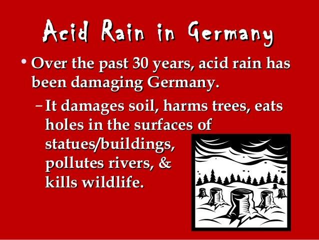 Germany's Acid Rain