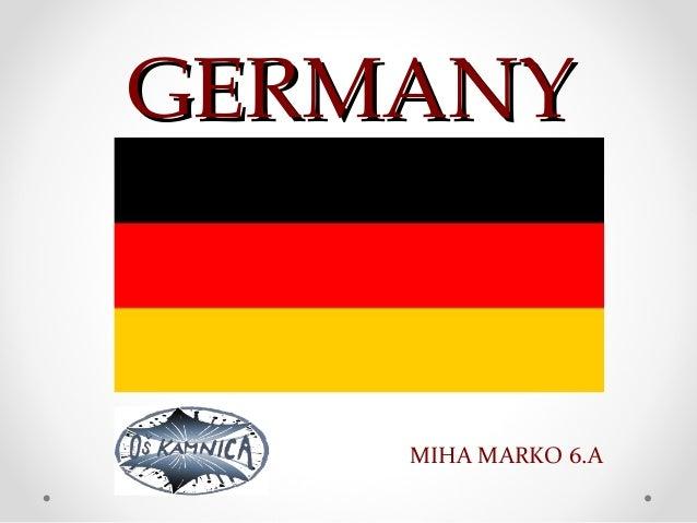 GERMANY    MIHA MARKO 6.A