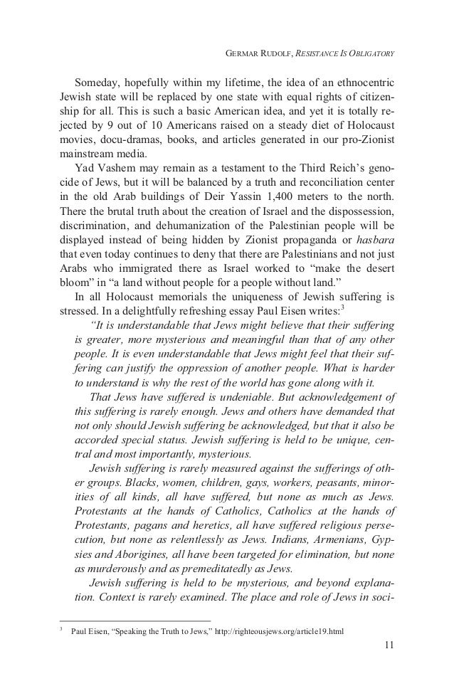 jewish resistance to the nzi holocaust essay 1 jewish resistance to holocaust the nazi holocaust, which lasted from 1941 to the end of the second world war in 1945, was one of the worst genocides in the history of mankind.