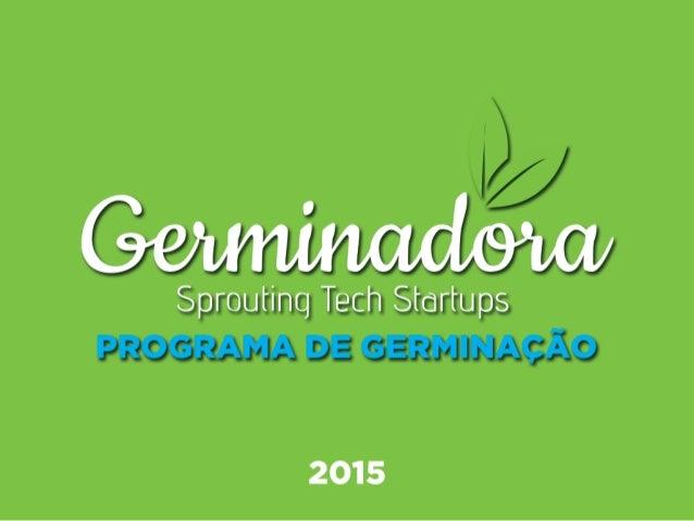 Programa de Germinação 2015