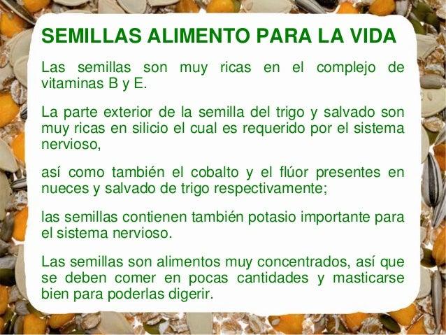 Germinados - Alimentos que contienen silicio ...