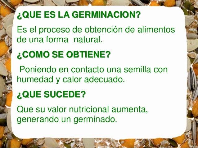 Germinados for Alimentos que contienen silicio