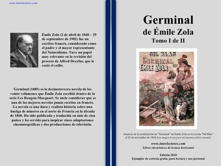 1 1 1 1 1 1 1 1 1 1 1 1 1 1 1 1 1 1 1 1 1 1 1 1 Germinal (1885) es la decimotercera novela de los veinte volúmenes que Émi...