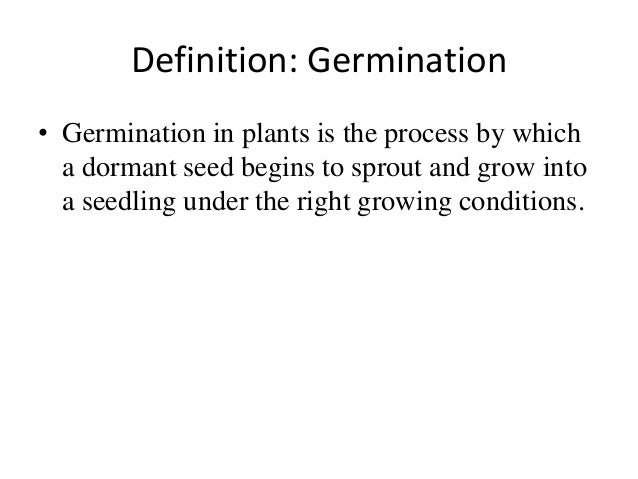 The Effects of pH Levels in Water on Bean Germination
