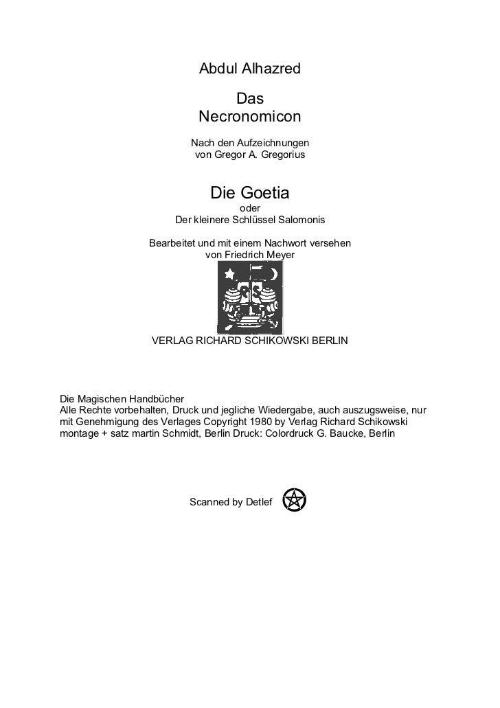Abdul Alhazred                                 Das                             Necronomicon                           Nach...
