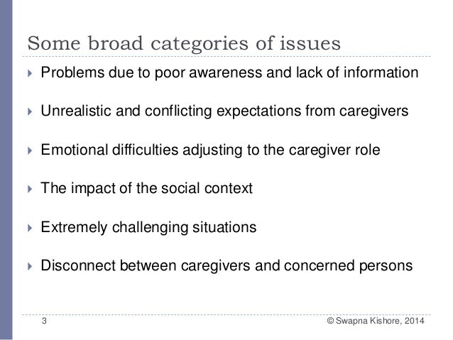 working caregivers issues challenges