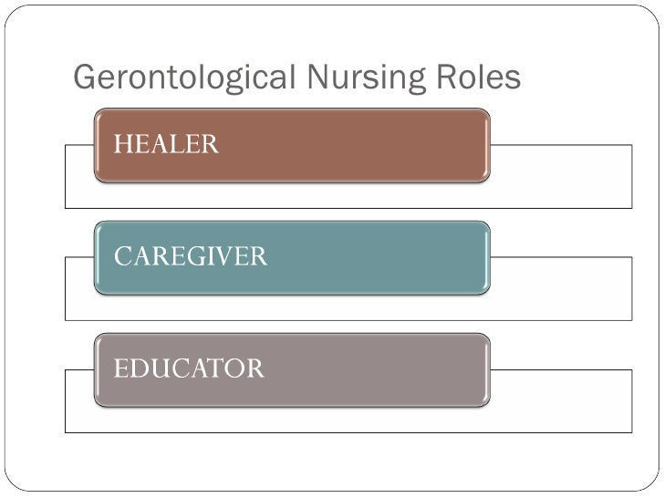 Gerontological Nursing Roles