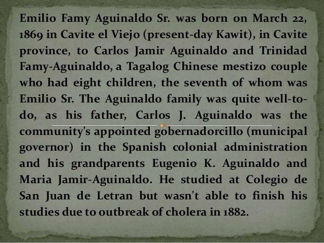 emilio aguinaldo cause of death