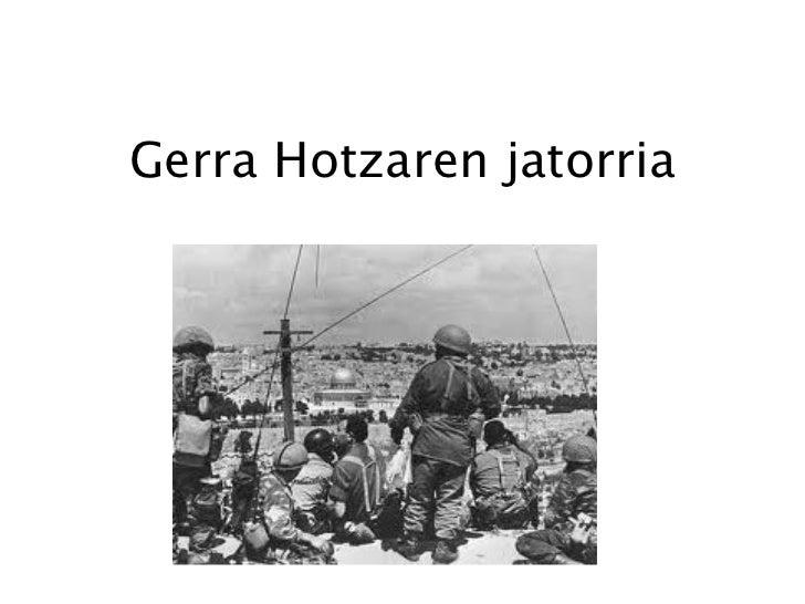 Gerra hotza Slide 2