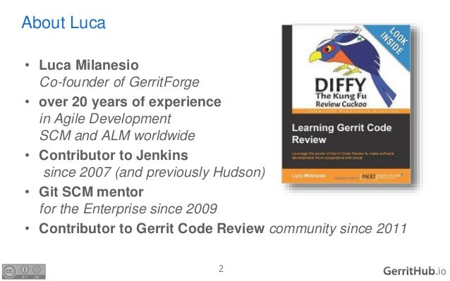 Gerrit Code Review with GitHub plugin Slide 2