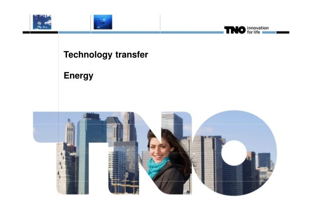 Technology transferEnergy
