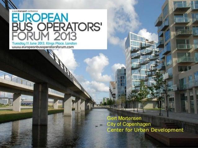 11Gert MortensenCity of CopenhagenCenter for Urban Development