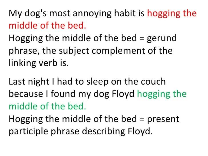 Gerund phrases 2