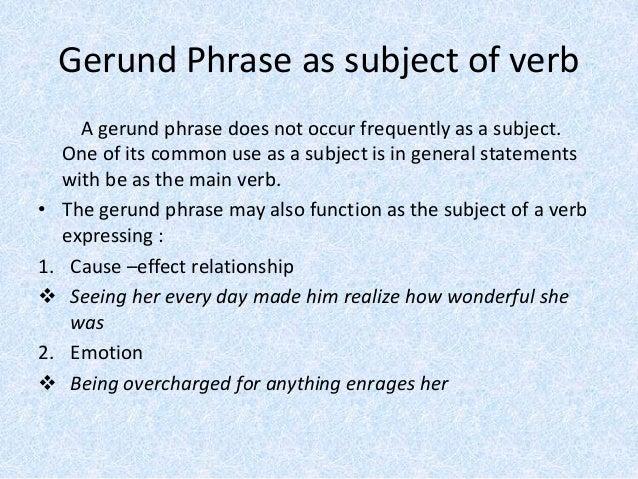 Gerund phrases winda