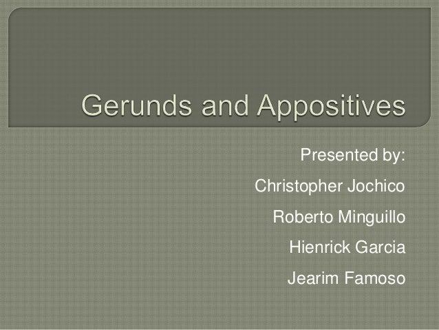 Presented by:Christopher Jochico  Roberto Minguillo    Hienrick Garcia    Jearim Famoso