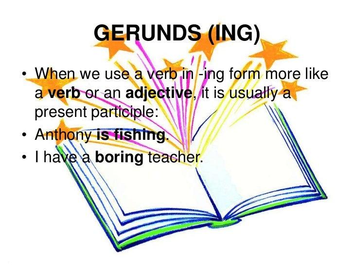 Gerunds and infinitives Slide 3