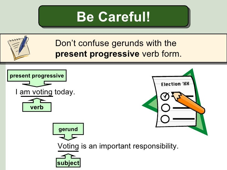 gerunds and infinitives examples pdf