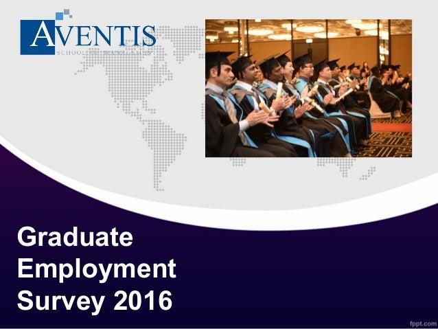 Graduate Employment Survey 2016