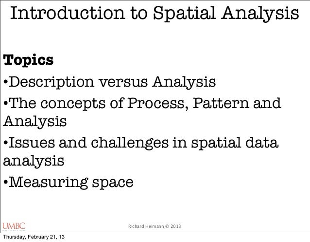 an introduction to the analysis of spatial memory We present the simba (spatial in-memory big data analytics) sys-  latency and high throughput in big spatial data analysis this demon-  introduction the wide .