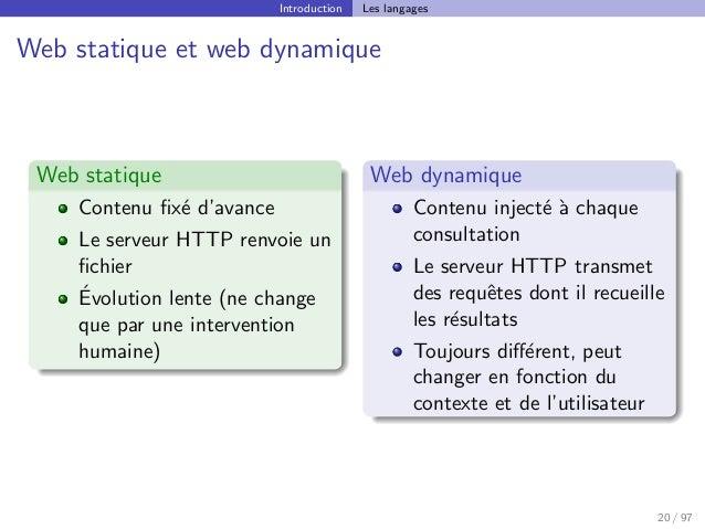Cours Dintroduction à La Conception De Sites Web Css Xhtml