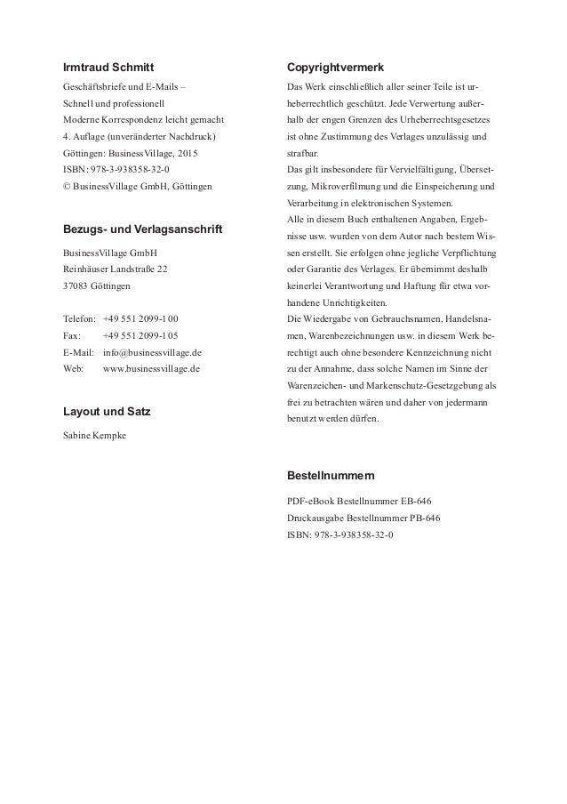 Geschäftsbriefe Und E Mails Schnell Und Professionell