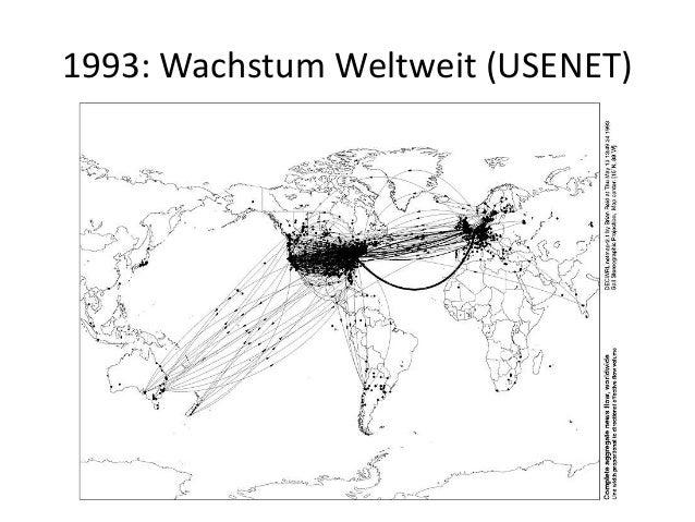 1993: Wachstum Weltweit (USENET)