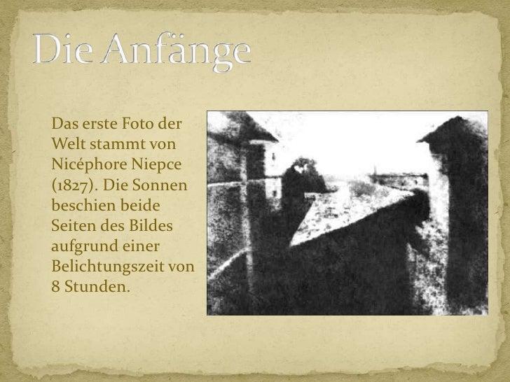 Geschichte der fotografie Slide 3