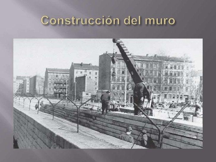 Construcción del muro<br />