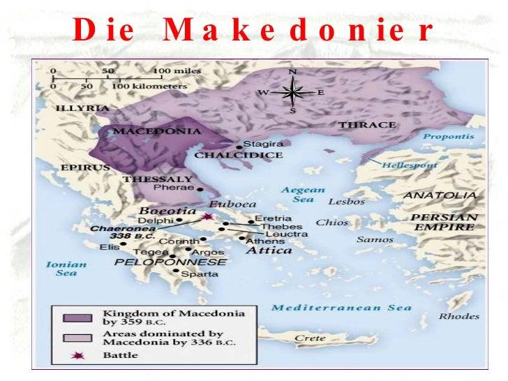 Die Makedonier unter Philipp II.